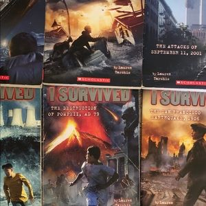 LOT OF SCHOLASTIC I SURVIVED PAPER BACK BOOKS